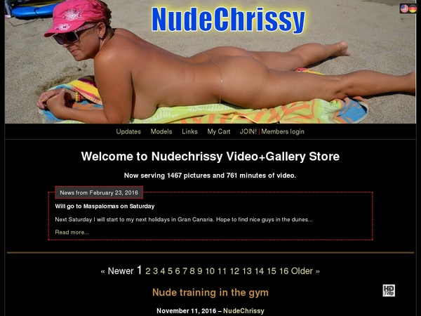 Nude Chrissy Reviews
