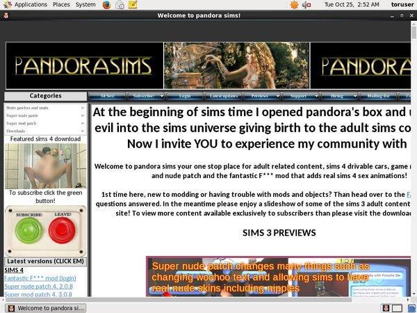 Pandorasims.net Epoch Discount