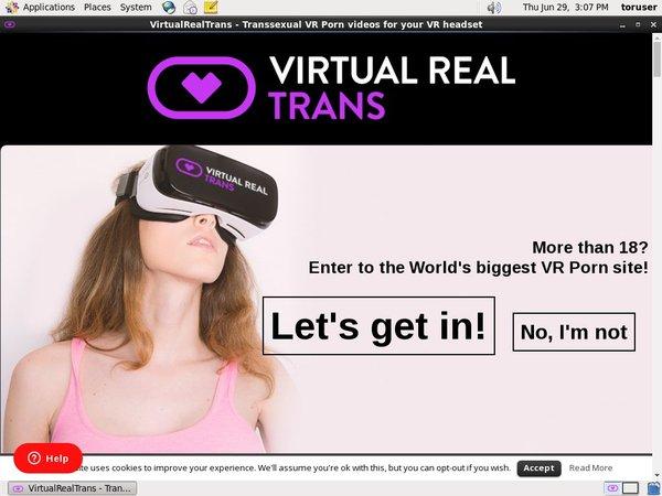 Virtual Real Trans New Porn
