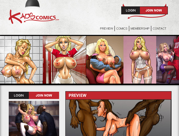 Logins For Kaos Comics