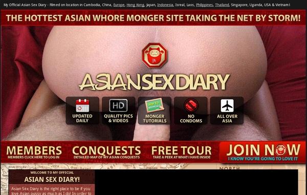 Asian Sex Diary Passwords Accounts