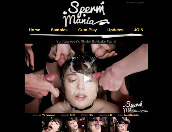 Try Sperm Mania For Free