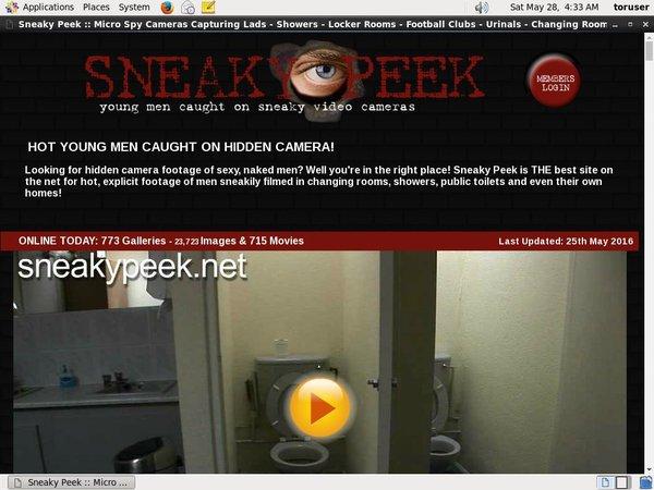 Sneakypeek.net Sex.com