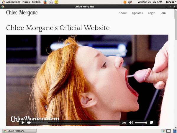 Chloemorgane Account Membership