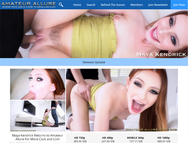 Amateur Allure Join By Phone