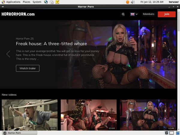Horrorporn Site-rip