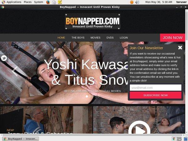 Boynapped.com Trial Login