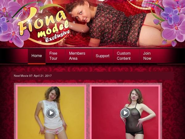 Free Fiona-model.com Membership Discount